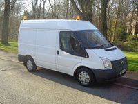 2012 FORD TRANSIT 2.2 280 1d 99 BHP SWB HIGH ROOF (AIR CON) £5990.00