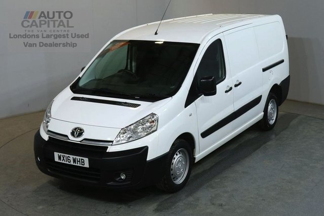 2016 16 TOYOTA PROACE 2.0 L2H1 HDI 1200 6d 127 BHP LWB AIR CON VAN AIR CONDITIONING FULL S/H