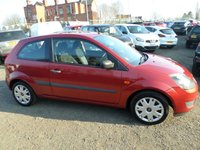 2008 FORD FIESTA 1.2 STYLE 16V 3d 78 BHP £1495.00