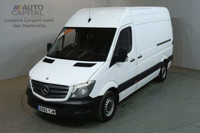 2015 65 MERCEDES-BENZ SPRINTER 2.1 313 CDI MWB 129 BHP H/ROOF RWD VAN ONE OWNER FULL S/H SPARE KEY