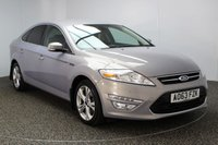 USED 2014 63 FORD MONDEO 2.0 TITANIUM X BUSINESS EDITION TDCI 5DR AUTO 138 BHP FULL SERVICE HISTORY FULL SEVICE HISTORY + HALF LEATHER SEATS + SATELLITE NAVIGATION + PARKING SENSOR + BLUETOOTH + CRUISE CONTROL + MULTI FUNCTION WHEEL + DAB RADIO + ELECTRIC WINDOWS + RADIO/CD/AUX/USB + ELECTRIC MIRROS + 17 INCH ALLOY WHEELS