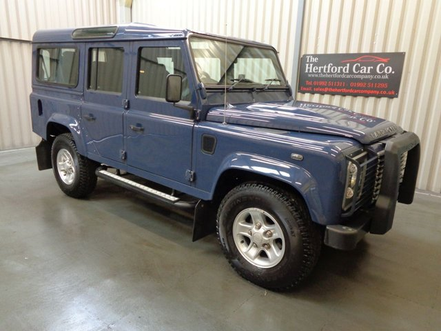 2010 60 LAND ROVER DEFENDER 2.4 110 TD XS STATION WAGON 5d 121 BHP