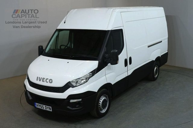 2015 65 IVECO DAILY 2.3 35S13V 126 BHP L2 MWB H/ROOF PANEL VAN ONE OWNER SPARE KEY BLUETOOTH