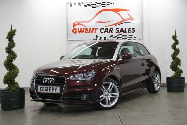 USED 2011 61 AUDI A1 1.6 TDI S LINE 3d 103 BHP *GOOD SPEC, LONG MOT, LOW TAX*