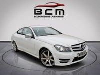 2012 MERCEDES-BENZ C-CLASS 2.1 C220 CDI BLUEEFFICIENCY AMG SPORT 2d AUTO 170 BHP £SOLD