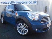 2012 MINI COUNTRYMAN 1.6 COOPER D ALL4 5d 112 BHP £8595.00