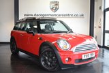 USED 2010 10 MINI CLUBMAN 1.6 COOPER 5DR 122 BHP excellent serivce history  *NO ADMIN FEES* FINISHED IN STUNNING RED WITH CLOTH UPHOLSTERY + EXCELLENT SERVICE HISTORY + PANORMAIC SUNROOF + ELECTRIC MIRRORS + BEAUTIFULLY MAINTAINED + ELECTRIC WINDOWS + AUXILIARY PORT + 17 INCH ALLOY WHEELS