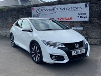 2016 HONDA CIVIC 1.6 I-DTEC SE PLUS 5d 118 BHP £11250.00