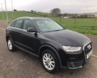 USED 2013 13 AUDI Q3 2.0 TDI QUATTRO 4x4 SE 5d 138 BHP 6 MONTHS PARTS+ LABOUR WARRANTY+AA COVER