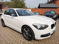 USED 2014 14 BMW 1 SERIES 2.0 120D SPORT 5d 181 BHP FSH+AIR CON+ALLOYS+B/T+RCL