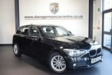"""USED 2012 62 BMW 1 SERIES 1.6 116D EFFICIENTDYNAMICS 5DR 114 BHP full service history  *NO ADMIN FEES* FINISHED IN STUNNING BLACK WITH ANTHRACITE UPHOLSTERY + FULL SERVICE HISTORY + BLUETOOTH + AUTO STOP/START+ FRONT ARMREST + AIR CONDITIONING + AUXILIARY PORT + 16"""" ALLOY WHEELS"""