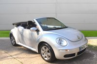 USED 2006 56 VOLKSWAGEN BEETLE 1.6 LUNA 8V 2d 101 BHP LOW MILEAGE FINANCE ME TODAY-UK DELIVERY POSSIBLE