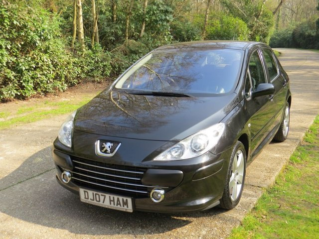 USED 2007 07 PEUGEOT 307 1.6 SPORT 5d 108 BHP LOW MILEAGE, LEATHER ETC.FINANCE ME TODAY-UK DELIVERY POSSIBLE