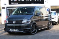 USED 2019 19 VOLKSWAGEN TRANSPORTER T6 2.0 TSI 204ps 7 Speed DSG Highline SWB Kombi T32 RARE PETROL AUTOMATIC ** HUGE SPEC **