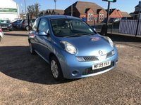 USED 2009 09 NISSAN MICRA 1.2 ACENTA 3d 80 BHP 1 FORMER KEEPER-BLUETOOTH-SERVICE HISTORY-12 MONTHS MOT-1.2 PETROL ENGINE