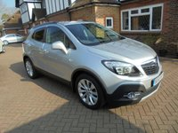 2015 VAUXHALL MOKKA 1.4 SE 5d AUTO 138 BHP Petrol With Full Leather Interior £9495.00