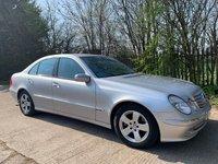 2002 MERCEDES-BENZ E-CLASS 2.6 E240 AVANTGARDE 4d 177 BHP £2295.00