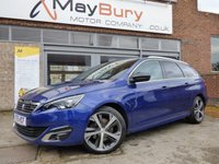 2015 PEUGEOT 308 2.0 BLUE HDI S/S SW GT LINE 5d AUTO 150 BHP £SOLD