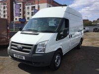 2011 FORD TRANSIT 2.4 350 H/R 1d 1 PREVIOUS OWNER NO VAT £6400.00