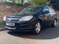 USED 2010 10 VAUXHALL ASTRA 1.4 ACTIVE 5d 88 BHP SERVICE HISTORY, MOT APR 20, FULLY PREARED JUST SERVICED, EXCELLENT CONDITION, ALLOYS,  AIR CON, FOGS, RADIO CD, E/WINDOWS, R/LOCKING, FREE WARRANTY, FINANCE AVAILABLE, HPI CLEAR, PART EXCHANGE WELCOME,