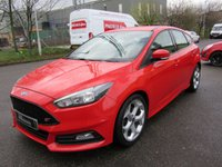 USED 2015 15 FORD FOCUS 2.0 ST-2 5d 247 BHP 1 PREV OWNER  FULL FORD SERVICE HISTORY