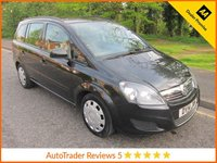 USED 2014 14 VAUXHALL ZAFIRA 1.7 EXCLUSIV CDTI ECOFLEX 5d 108 BHP Fantastic Value  Seven Seat Vauxhall Zafira with Air Conditioning, Electric Windows, Electric Mirrors and Vauxhall Service History