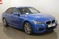 USED 2015 65 BMW 3 SERIES 2.0 320D M SPORT 4d 181 BHP ONLY 14,000 MILES + 1 OWNER + NAV + LEATHER