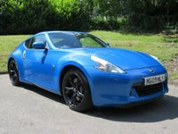 USED 2009 NISSAN 370Z 3.7 V6 GT 3d 326 BHP SOUGHT AFTER, MONTEREY BLUE