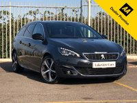 USED 2017 66 PEUGEOT 308 1.6 BLUE HDI S/S SW GT LINE 5d AUTO 120 BHP