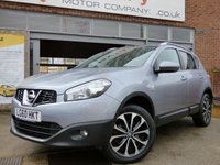 USED 2010 60 NISSAN QASHQAI 1.5 N-TEC DCI 5d 110 BHP GREAT SPECIFICATION WITH SATELLITE NAVIGATION AND FULL SERVICE HISTORY