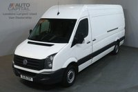 USED 2015 15 VOLKSWAGEN CRAFTER CR35 TDI 2.0 CR35 TDI 135 BHP L3 H3 LWB H/ROOF TWO OWNER SPARE KEY