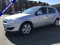 USED 2009 59 VAUXHALL ASTRA 1.4 ACTIVE 5d 89 BHP Low Mileage