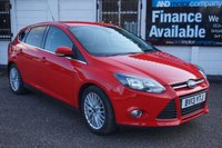 USED 2013 13 FORD FOCUS 1.6 ZETEC TDCI 5d 113 BHP FSH-DAB-B/TOOTH FSH, Appearance Pack, Alloys, DAB Radio, B/tooth