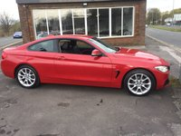 USED 2014 14 BMW 4 SERIES 2.0 420I XDRIVE SPORT 2d 181 BHP 1 PRIVATE OWNER, FOUR WHEEL DRIVE, HEATED LEATHER SEATS, 47000 MILES FSH,