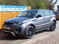 USED 2016 16 LAND ROVER RANGE ROVER EVOQUE 2.0 TD4 HSE DYNAMIC 5d AUTO 177 BHP 1 OWNER, TOP SPEC