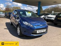 USED 2010 10 FORD FIESTA 1.2 EDGE 3d 81 BHP