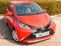 USED 2016 16 TOYOTA AYGO 1.0 VVT-I X-PLAY 5d 69 BHP FULL SERVICE HISTORY WITH SERVICES AT 19K, 36K, & 52K. FREE ROAD TAX, BLUETOOTH MUSIC STREAMING. AIR CONDITIONING, SPEED LIMITER, SUPERB FUEL ECONOMY - 55 MILES PER GALLON DAY TO DAY DRIVING, MANUFACTURERS WARRANTY JUNE 2021  ALL OUR CARS ARE FULLY PREPARED TO INCLUDE A NEW MOT WITH NO ADVISORIES, A FULL VALET, AND  A 6 MONTH MAJOR MECHANICAL BREAKDOWN WARRANTY. NEED FINANCE? WE ARE FINANCE SPECIALISTS AND HAVE A RANGE OF PACKAGES TO SUIT ALL BUDGETS