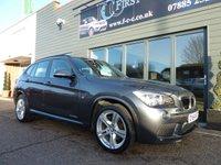 2014 BMW X1 2.0 XDRIVE20D M SPORT 5d AUTO 181 BHP £SOLD