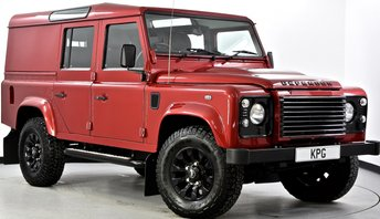 2014 LAND ROVER DEFENDER 110 2.2 D XS Utility Station Wagon 5dr £32995.00