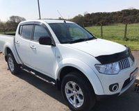 2012 MITSUBISHI L200 2.5 DI-D 4X4 WARRIOR NO VAT PICK UP 175 BHP £8999.00