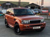 USED 2005 05 LAND ROVER RANGE ROVER SPORT 4.2 V8 S/C 1ST ED 5d AUTO 385 BHP *HUGE SPEC, REAR ENTERTAINMENT, RARE 1ST EDITION!*