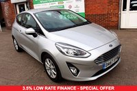 USED 2017 67 FORD FIESTA 1.1 ZETEC 3d 85 BHP +ONE OWNER +FSH +LOW MILEAGE.