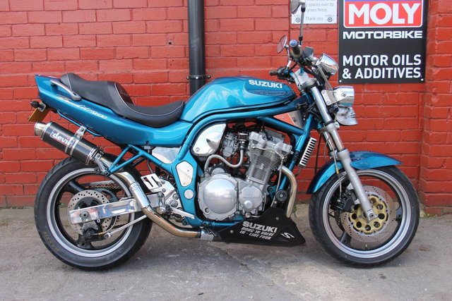 1998 SUZUKI GSF 600 S BANDIT SX