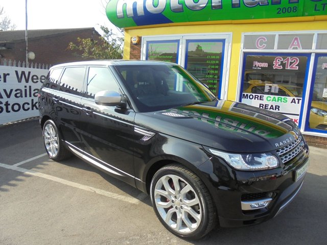 USED 2014 14 LAND ROVER RANGE ROVER SPORT 3.0 SDV6 HSE 5d AUTO 288 BHP £0 DEPOSIT FINANCE AVAILABLE....PANORAMIC GLASS SUNROOF.....SAT NAV DIESEL AUTOMATIC