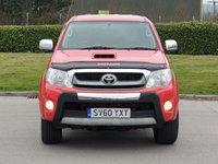 USED 2010 60 TOYOTA HI-LUX 3.0 INVINCIBLE 4X4 D-4D DCB 1d 169 BHP
