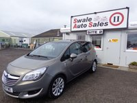 USED 2015 15 VAUXHALL MERIVA 1.4 SE 5 DOOR 99 BHP £37 PER WEEK, NO DEPOSIT - SEE FINANCE LINK