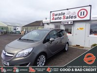 USED 2015 15 VAUXHALL MERIVA 1.4 SE 5 DOOR 99 BHP GOOD AND BAD CREDIT SPECIALISTS! APPLY TODAY!