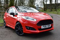 2016 FORD FIESTA 1.0 ZETEC S RED EDITION 3d 139 BHP £9750.00