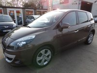 USED 2011 61 RENAULT SCENIC 1.6 DYNAMIQUE TOMTOM ENERGY DCI S/S 5d 130 BHP NEW MOT, SERVICE & WARRANTY