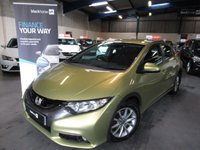USED 2013 11 HONDA CIVIC 2.2 I-DTEC ES 5d 148 BHP MOT TO 24/1/2020,  RECENT SERVICE, 2 OWNERS FROM NEW, SPARE KEY